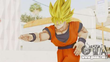 Dragon Ball Xenoverse Goku SSJ1 para GTA San Andreas