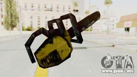 Liberty City Stories Chainsaw para GTA San Andreas tercera pantalla