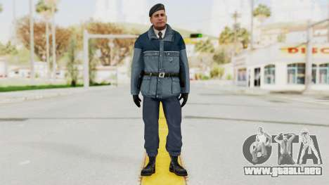 Bourne Conspirancy Zurich Police v2 para GTA San Andreas segunda pantalla