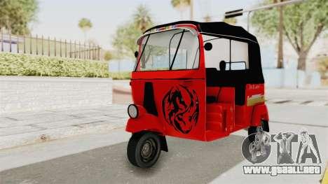 Sri Lanka Three Wheeler Taxi para GTA San Andreas