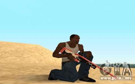 Rifle Cyrex para GTA San Andreas sexta pantalla