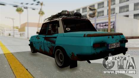 Wartburg 353 Rat Style para GTA San Andreas left