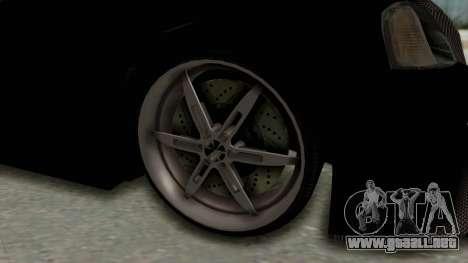 Dacia Logan Loco Tuning para GTA San Andreas vista hacia atrás
