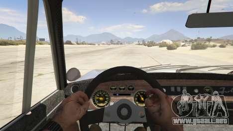 GTA 5 Lancia Fulvia vista trasera