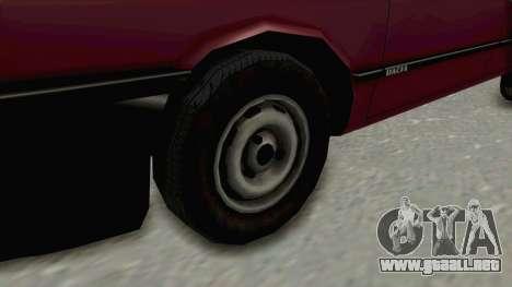 Dacia 1310L 1997 para GTA San Andreas vista hacia atrás