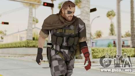 MGSV The Phantom Pain Venom Snake Scarf v7 para GTA San Andreas