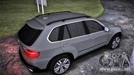 BMW X5 E70 para GTA San Andreas left