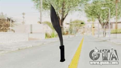 Liberty City Stories - Machete para GTA San Andreas