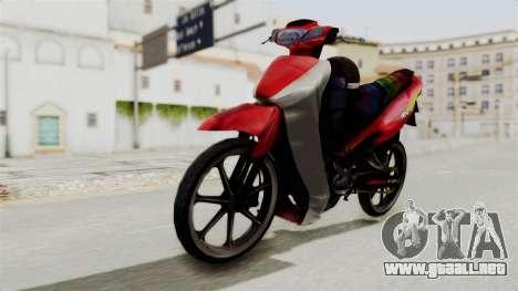 Suzuki RGX 120 para la visión correcta GTA San Andreas