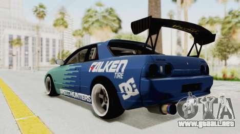 Nissan Skyline R32 Drift Falken para GTA San Andreas left