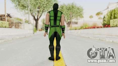 Mortal Kombat X Klassic Human Reptile para GTA San Andreas tercera pantalla