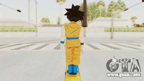 Dragon Ball Xenoverse Gohan Teen DBS SJ v2 para GTA San Andreas tercera pantalla