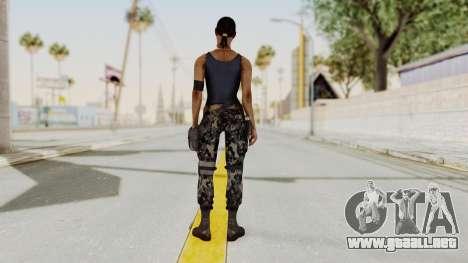 Mortal Kombat X Jacqui Briggs Boot Camp para GTA San Andreas tercera pantalla