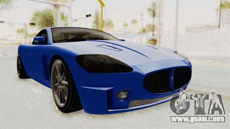 GTA 5 Ocelot F620 IVF para GTA San Andreas