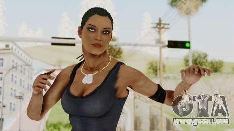 Mortal Kombat X Jacqui Briggs Boot Camp para GTA San Andreas