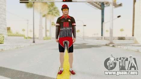 GTA 5 Cyclist 3 para GTA San Andreas segunda pantalla