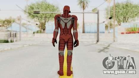 Marvel Heroes - Iron Man (Mk5) para GTA San Andreas tercera pantalla
