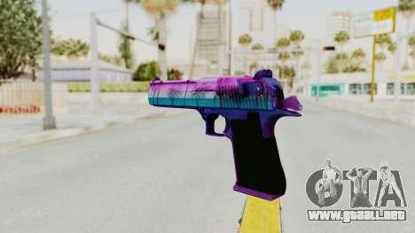 Vice Desert Eagle para GTA San Andreas segunda pantalla