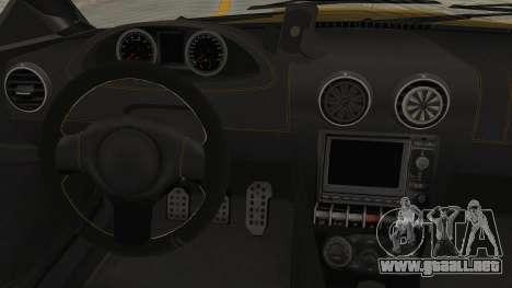 GTA 5 Ocelot F620 SA Lights para visión interna GTA San Andreas