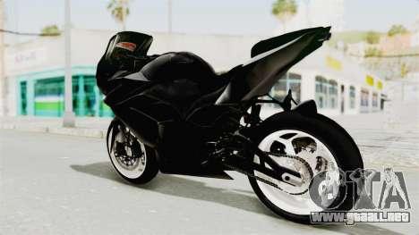 Kawasaki Ninja 250R Black Cobra RnB Anak Jalana para GTA San Andreas left