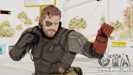 MGSV Phantom Pain Venom Snake Sneaking Suit para GTA San Andreas