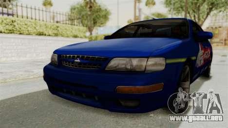 Nissan Maxima SE 1997 Fast N Furious para GTA San Andreas