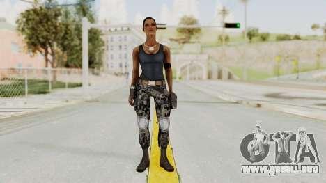 Mortal Kombat X Jacqui Briggs Boot Camp para GTA San Andreas segunda pantalla