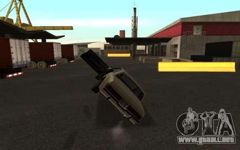 Flip machine para GTA San Andreas segunda pantalla