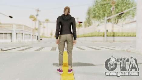 GTA 5 Online Female Skin 2 para GTA San Andreas tercera pantalla