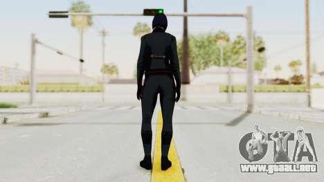 Batman Arkham Origins - Lady Shiva para GTA San Andreas tercera pantalla