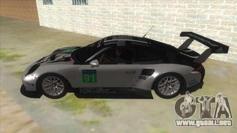 2016 Porsche 911 RSR para GTA San Andreas left