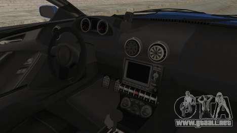 GTA 5 Ocelot F620 IVF para visión interna GTA San Andreas