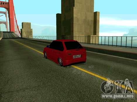 VAZ 2114 KBR para GTA San Andreas left