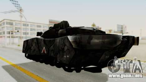 T-470 Hover Tank para GTA San Andreas left