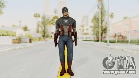 Captain America Civil War - Captain America para GTA San Andreas segunda pantalla
