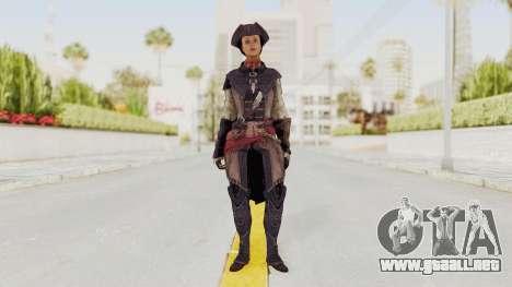 Assassins Creed 4 DLC - Aveline de Grandpré para GTA San Andreas segunda pantalla