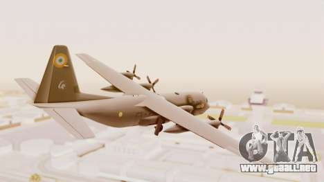 C130 Hercules Indian Air Force para GTA San Andreas left