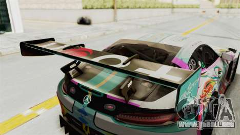 Mercedes-Benz SLS AMG GT3 2016 Goodsmile Racing para vista lateral GTA San Andreas