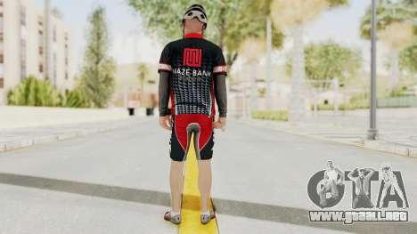 GTA 5 Cyclist 3 para GTA San Andreas tercera pantalla