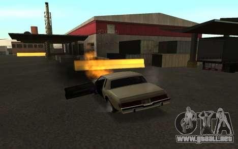 Flip machine para GTA San Andreas sucesivamente de pantalla