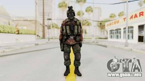 Battery Online Russian Soldier 8 v1 para GTA San Andreas segunda pantalla