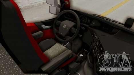 Volvo FM Euro 6 6x4 Tandem v1.0 para GTA San Andreas vista hacia atrás