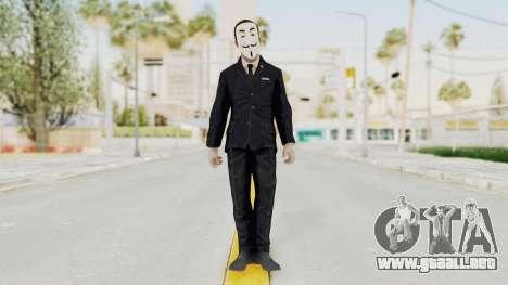 COD BO Nixon Anonymous para GTA San Andreas segunda pantalla