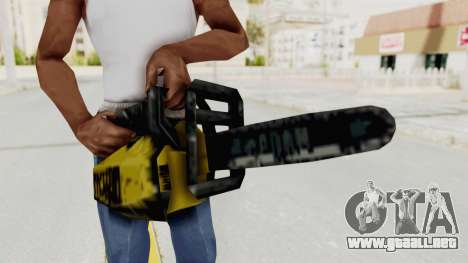 Liberty City Stories Chainsaw para GTA San Andreas
