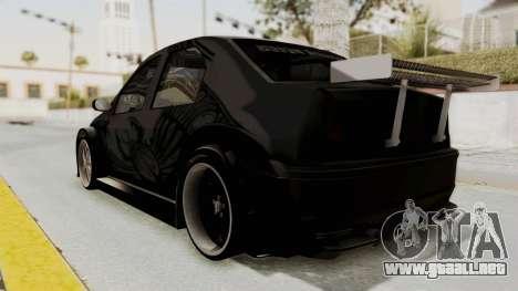 Dacia Logan Loco Tuning para GTA San Andreas left