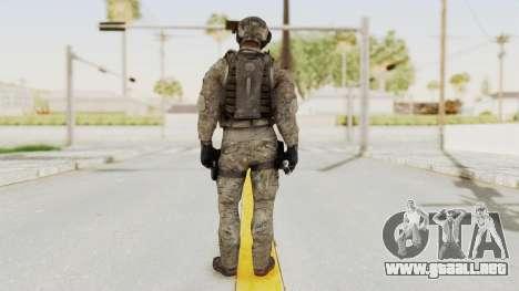 COD MW3 Delta Sandman Custom para GTA San Andreas tercera pantalla