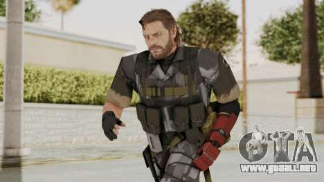MGSV The Phantom Pain Venom Snake No Eyepatch v7 para GTA San Andreas