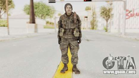 COD BO SOG Grigori Weaver para GTA San Andreas segunda pantalla