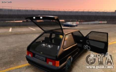 VAZ 2113 Final para GTA 4 Vista posterior izquierda