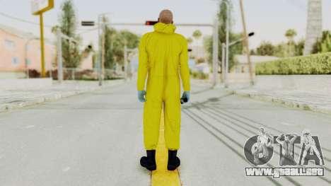 Walter White Heisenberg GTA 5 Style para GTA San Andreas tercera pantalla